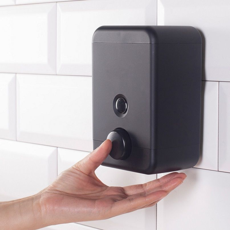 موزع حوض غسيل يدوي متين مثبت على الحائط