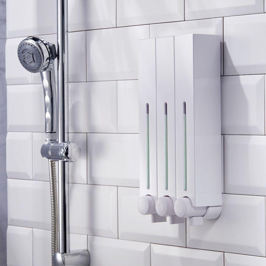 Wall Mounted Refill Shampoo Soap Dispenser