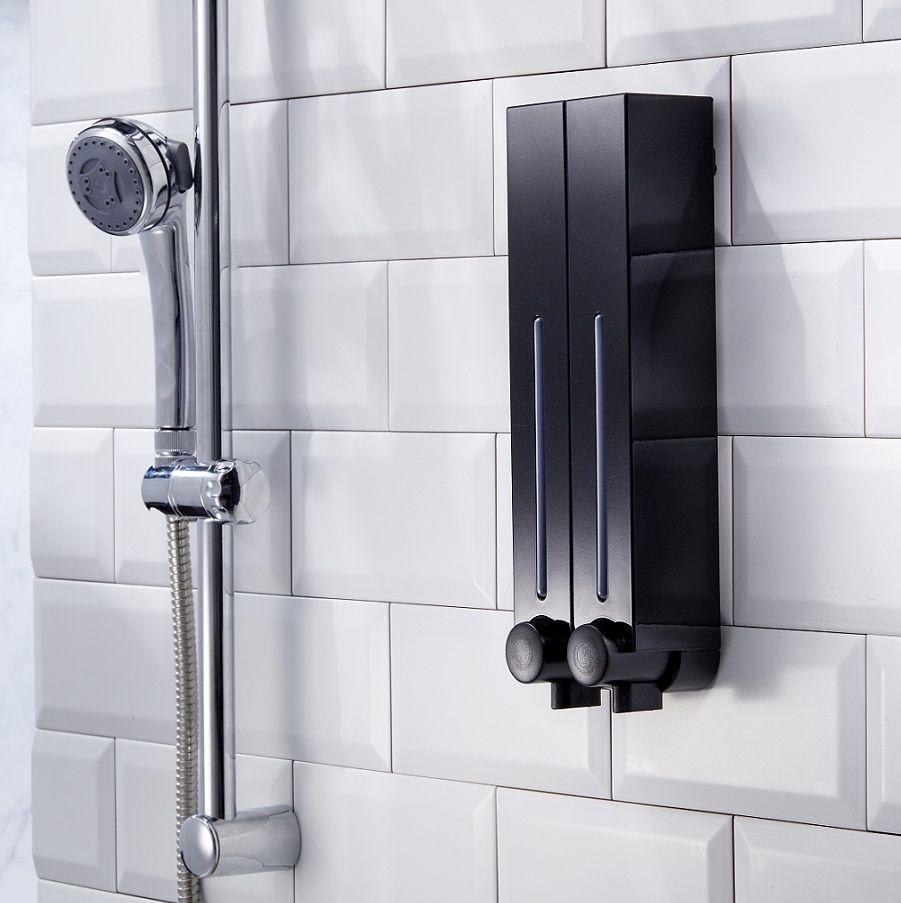 Quality Shower Soap Dispenser Black