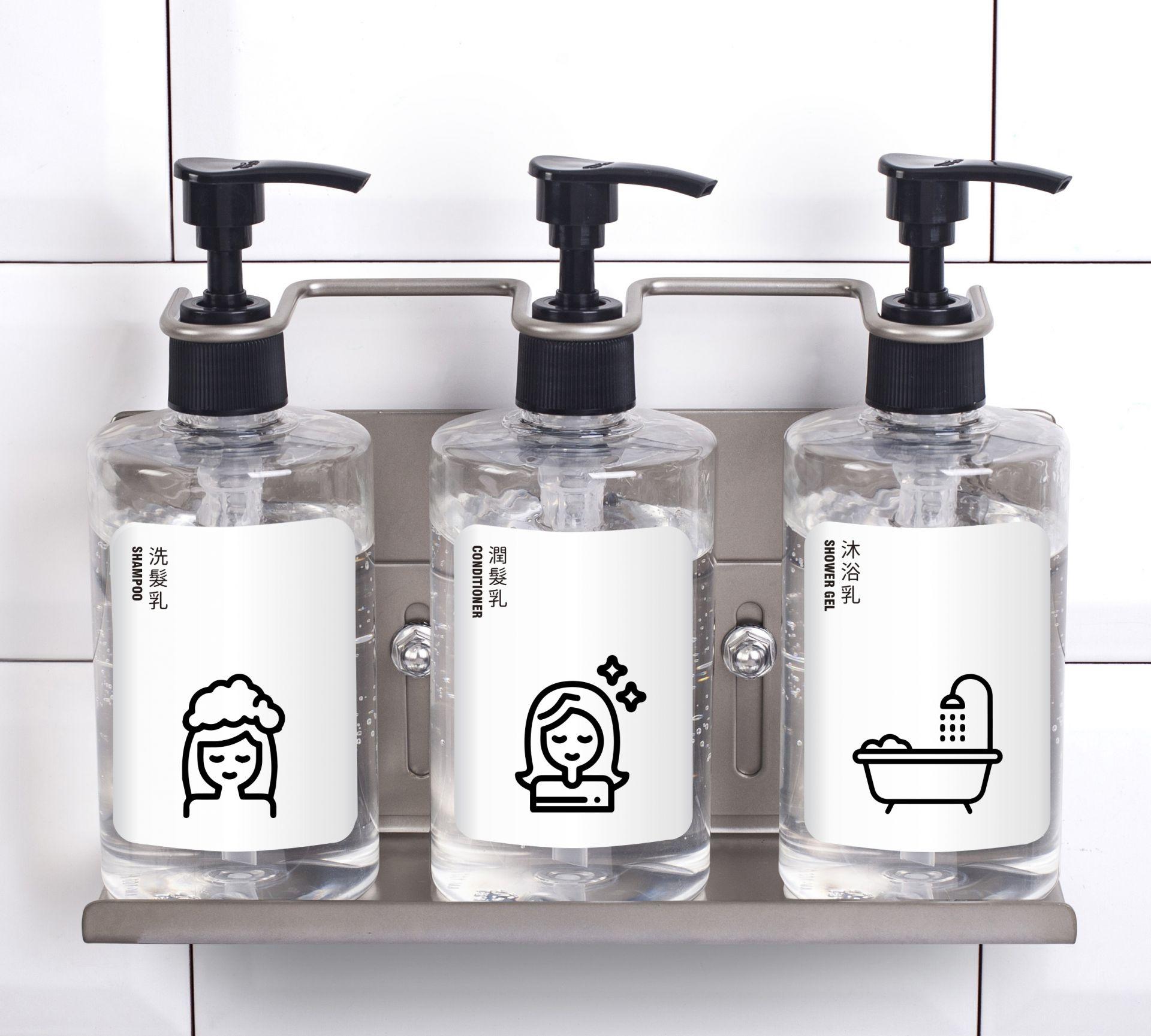 Wall Mount Soap Dispenser Holder