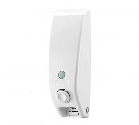 350ml White Wall Mounted Plastic Dispenser