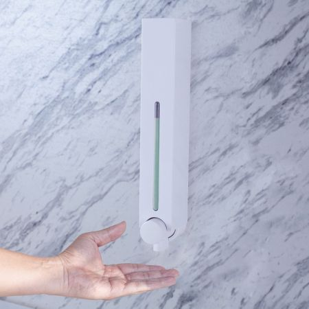 Slimline Shampoo Soap Dispenser