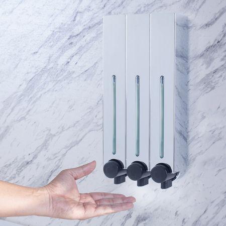 3 Chamber Soap Dispenser