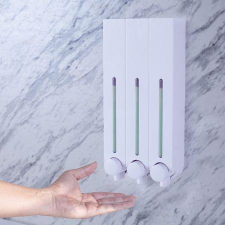 Business Accommodation Shower Dispenser