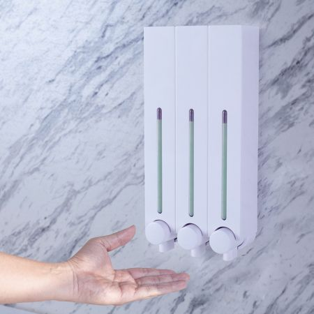 Business Accommodation Shower Dispenser