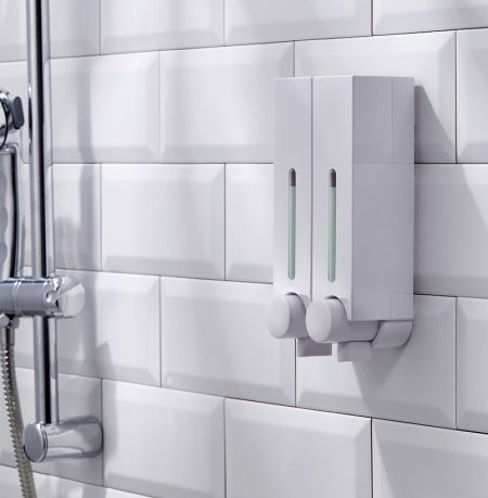 Hand and Shower Dispenser