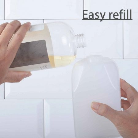 रीफिल करने योग्य सार्वजनिक बाथरूम फोम साबुन डिस्पेंसर