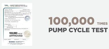 100,000 Times Pump Life Cycle