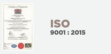 आईएसओ 9001 प्रमाणित उत्पादन और निरीक्षण प्रक्रिया