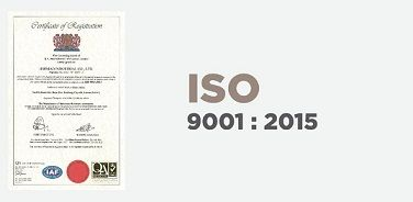 ISO 9001 Certified Production & Inspection Procedure