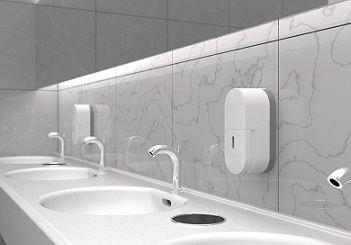 सार्वजनिक शौचालय साबुन डिस्पेंसर