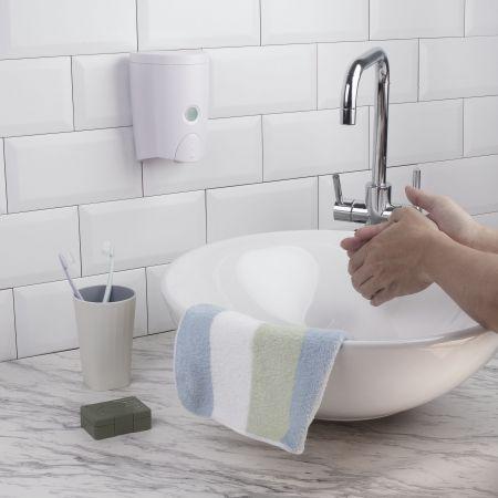 洗手乳壁掛式按壓罐