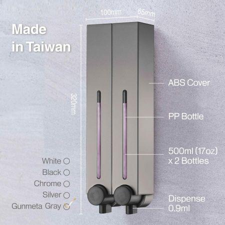 Chic Dual Soap Dispenser Spec