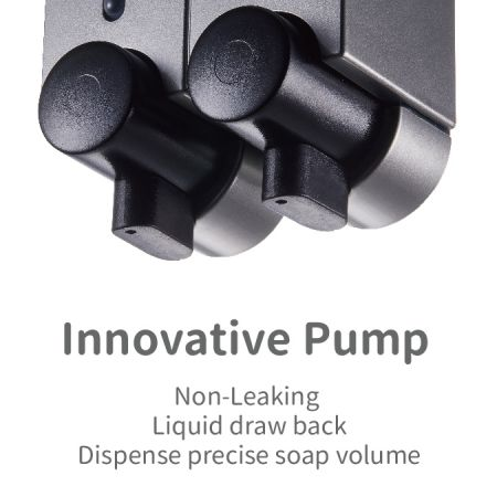 Wandspender innovative Pumpe