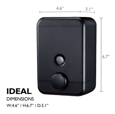 Homepluz Cube Soap Dispenser feature