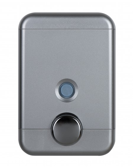 Cube Wall Mounted Soap Dispenser 25oz Silver