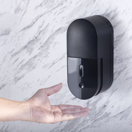 1 liter Wall Mount Manual Soap Dispensers / Black