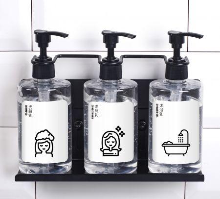 飯店專用-不鏽鋼瓶罐置物架