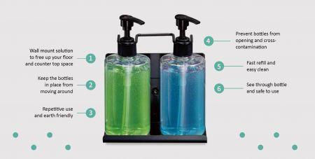 Преимущества использования дозатор для шампуня