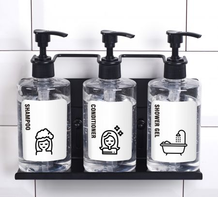 Tripel shower dispenser