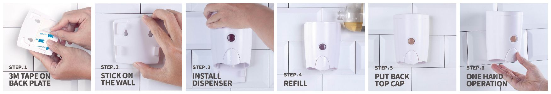 Quick Install Dispenser & Ready To Use
