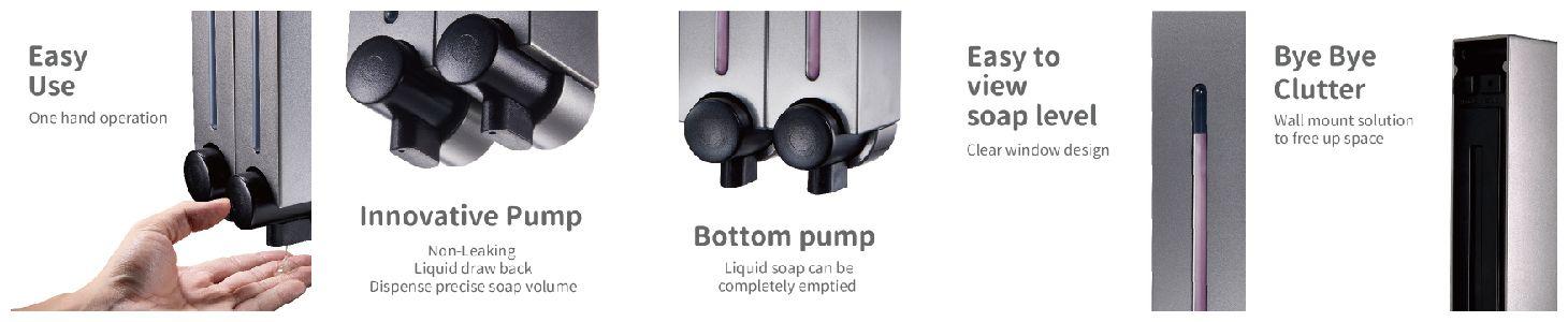 Advantages of Using Homepluz Soap Dispenser