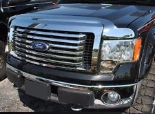 Hood Shield Chrome - F150 Hood Guard or Bug Deflector Chrome