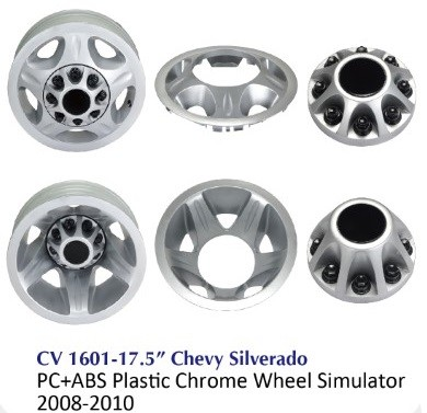 Chrome Wheel Wheel Simulator