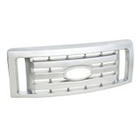 Ford Chrome Car Front Grille (Satin Nickel Plating ) - Ford Chrome Car Front Grille