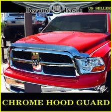 Escudo de capucha cromado - Dodge Ram 2500/3500 - Deflector de insectos para capó, cromado