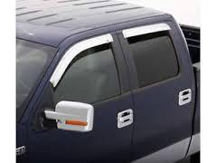 Window Visor Chrome - 09-14 F150 Window Visor Extended Cab