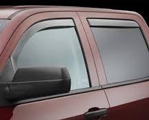 Window Visor - 2014 Silverado Window Visor Crew Cab
