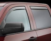 Window Visor - 2014 Silverado Window Visor Crew Cab