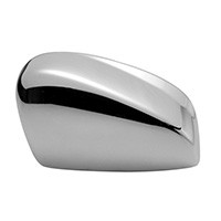 2013 Dodge Dart Chrome Mirror Cover ( Shiny Chrome) - 2013 Dodge Dart Chrome Mirror Cover