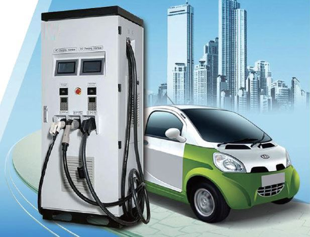 Electric Vehicle AC & DC Combo Charger (EV Charger), 3 guns