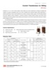 Current Transformers / ERCTs for Billing (10~30kV Outdoor Type) - AWF Series