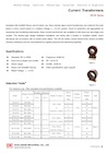 CR-3S Series Medium-Voltage Epoxy-Cast Current Transformers for Indoor Use (Window-Type)