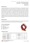 Resin-Insulated LV Current Transformers (Window-Type, Indoor Model) - EOS-RN / EOS-RM Series
