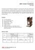 "20kV Two-Core Current Transformer (""U-Shaped Top"" Design) - Model: EWF-20DI"