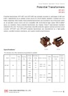 CIC EPF-3SF1/6SF2 Potential Transformers (Circuit Breaker Operation Power Source)