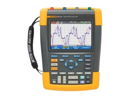 Fluke MDA-510 和 MDA-550 馬達驅動器分析儀