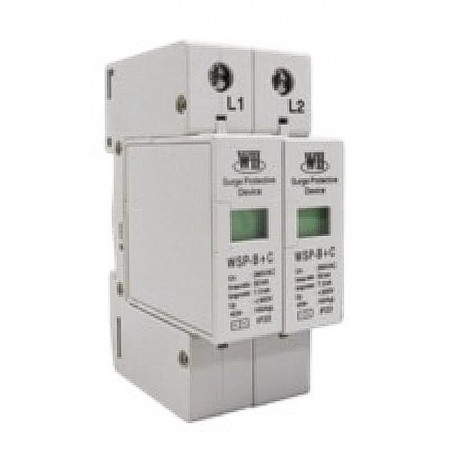 B+C Modular Surge Protection Device for Low-Voltage Power Systems