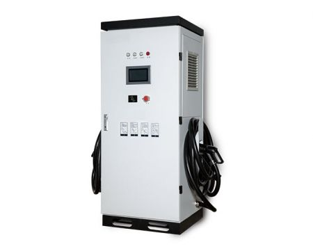 Electric Vehicle DC Quick Charger (EV Charger), European Standard, 1 or 2 guns