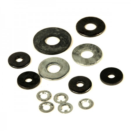 Plate Washers for Use with Fasteners - Many Sizes, Materials, Coatings (Hardware)