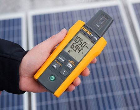 Fluke IRR1-SOL 太陽能照度計 (產品介面)