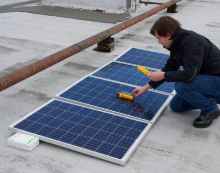 Fluke IRR1-SOL 太陽能照度計 (應用情境)