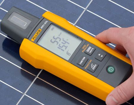 Fluke IRR1-SOL 太陽能照度計 (應用案例)