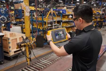 Fluke ii900 工業聲學顯像儀Fluke ii900 工業聲學顯像儀 (應用實例)