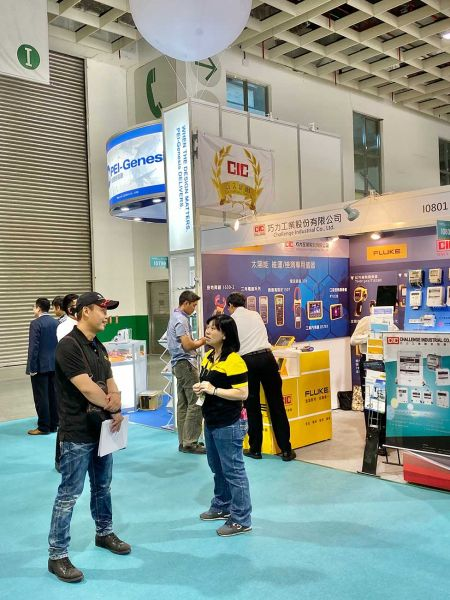 """Fluke collaborating with CIC (Challenge Industrial Co., Ltd.) during """"2019 Energy Taiwan"""" Exhibition"""