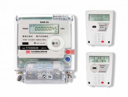 Single-Phase Pre-Payment System (IC Card Prepaid Meter, Card Reader & Value Adder)